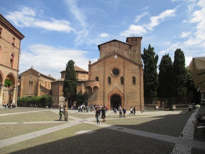 Photo 9 The Abbazia di Santo Stefano in Piazza Santo Stefano – the site of the oldest churches in Bologna.
