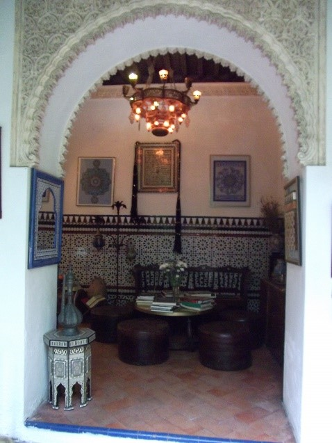 Photo 16. The interior of the Casa Andalusia.