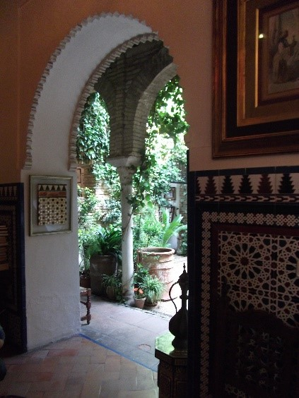 Photo 17. The interior of the Casa Andalusia.