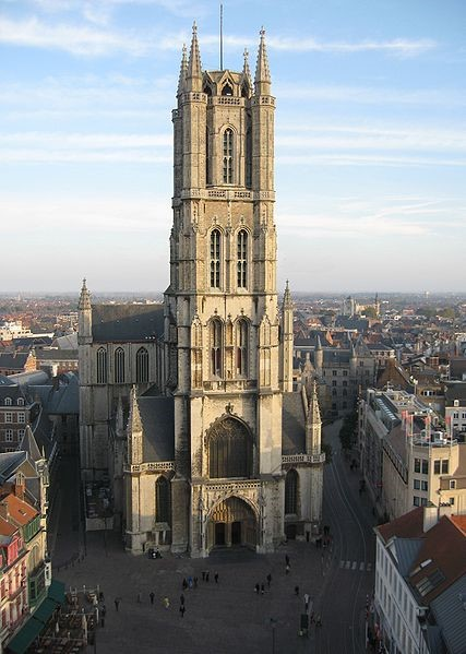 St Bavo's Cathedral, Ghent ByMoody75[CCBY-SA2.0 (https://creativecommons.org/licenses/by-sa/2.0)], via Wikimedia Commons