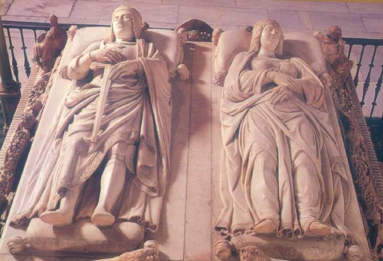 Photo 17. The tomb of Ferdinand of Aragon and Isabella of Castile.
