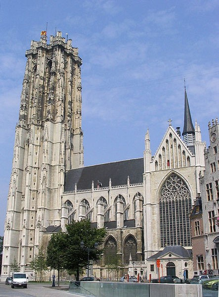 Photo 2  St Romboutskathedraal, Mechelen. By User Jeantosti (French Wikipedia, via Wikimedia Commons)
