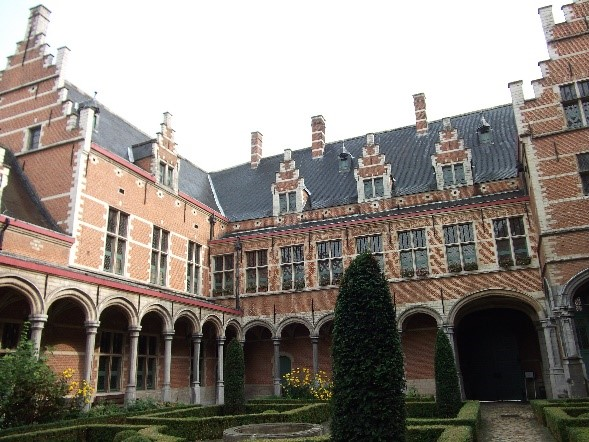 Photo 4. The courtyard of the Palace of Margaret of Austria, the centre of political life in the Low Countries in Charles' youth.
