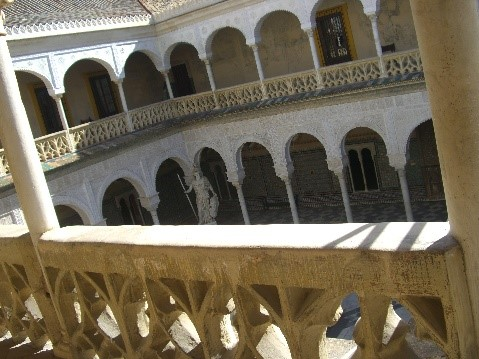 Photo 11. View inside the Casa de Pilatos.