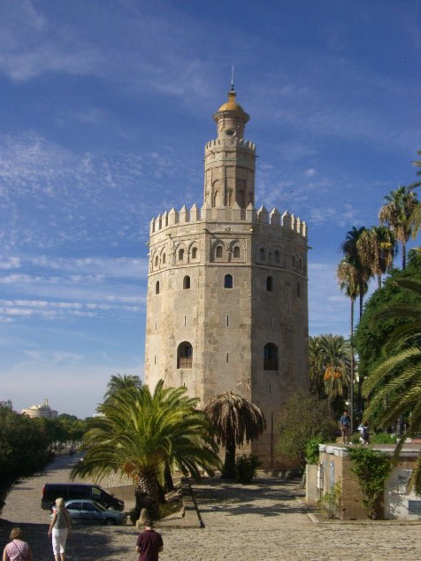 Photo 13. The Torre de Oro (Golden Tower) on the banks of the Guadalquivir River.