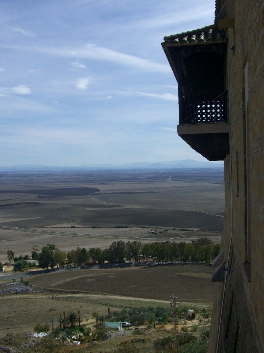 Photo 16. View from the walls of Carmona.