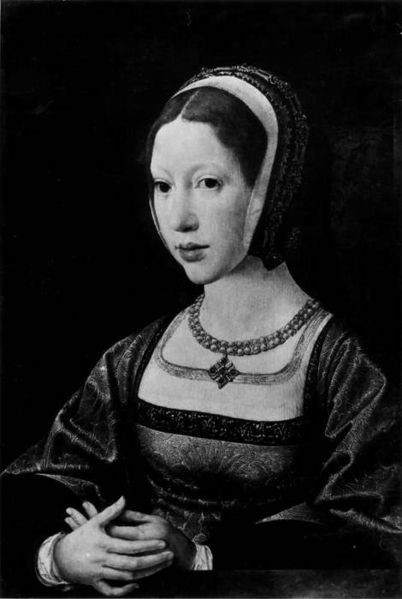 A young Isabella of Austria (1501 – 1526)    Jan Gossaert  c. 1514 [Public domain], via Wikimedia Commons