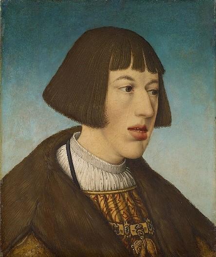 Ferdinand c. 1521 - Hans Maler zu Schwaz – Kunsthistorisches Musuem, Vienna.  [Public domain], via Wikimedia Commons.