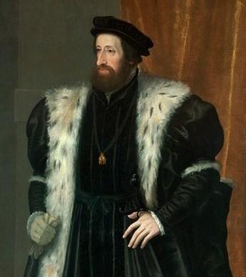 Ferdinand c. 1560 - Hans Bocksberger der Ältere - Kunsthistorisches Musuem, Vienna.  [Public domain or Public domain], via Wikimedia Commons