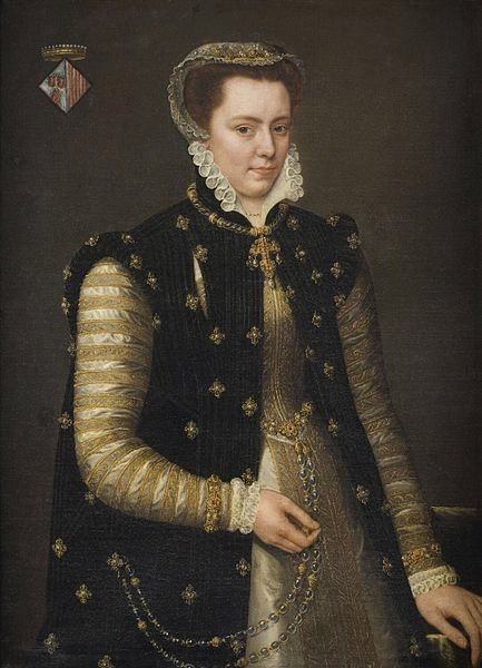 Margaret of Parma by Antonis Mor c. 1559. Philadelphia Museum of Art. [Public domain], via Wikimedia Commons