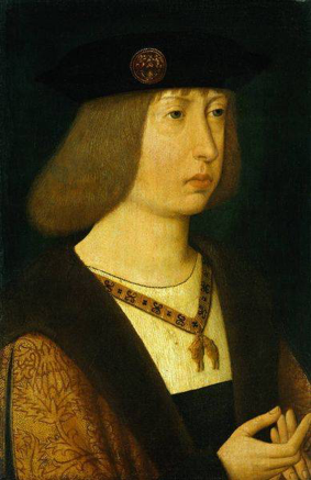 Philip the Handsome as a young man. Anon. c. 1500. Het Noordbrabants Museum [Public domain], via Wikimedia Commons