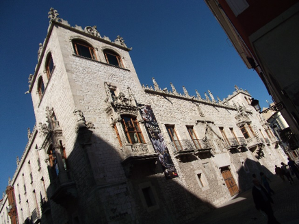 The Casa del Cordon, Burgos – where Philip died in September 1506.