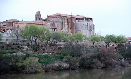 The Convent of Santa Clara on the banks of the Duoro in Tordesillas, the home of Juana for over 45 years.