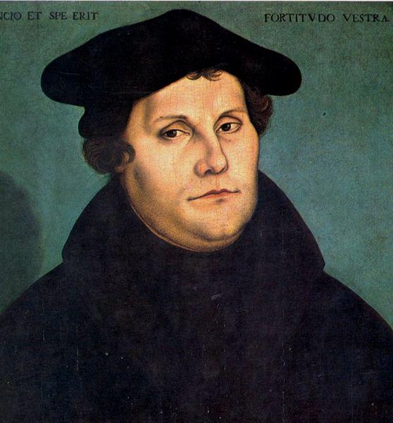 Martin Luther sparked the religious divisions of Charles V's reign.