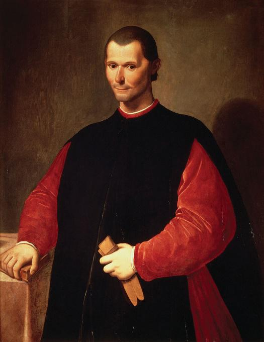 Niccolo Machiavelli - Santi di Tito (1536-1603) Palazzo Vecchio, Florence. [Public domain]