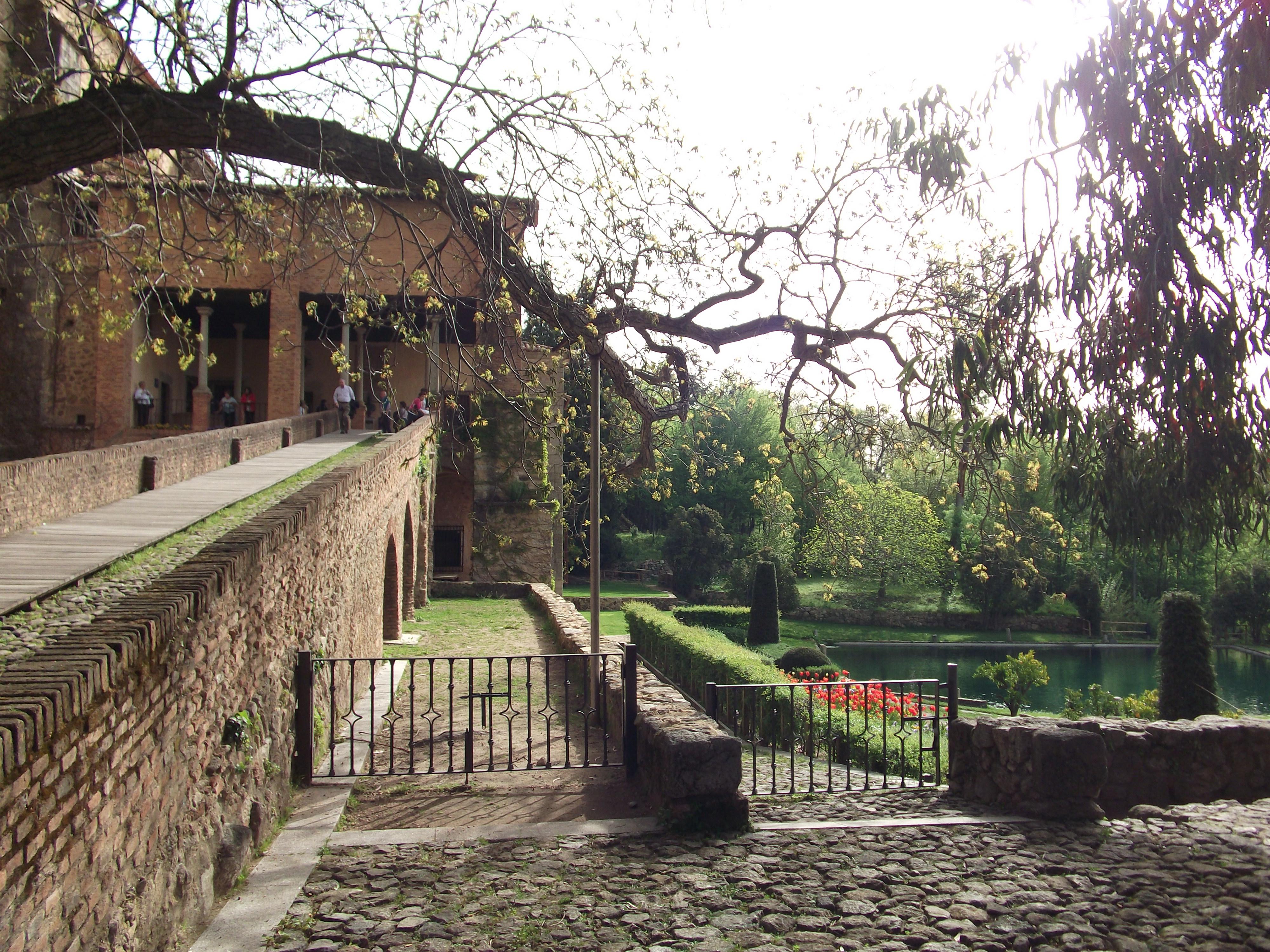 Emperor Charles V's villa - ramp.