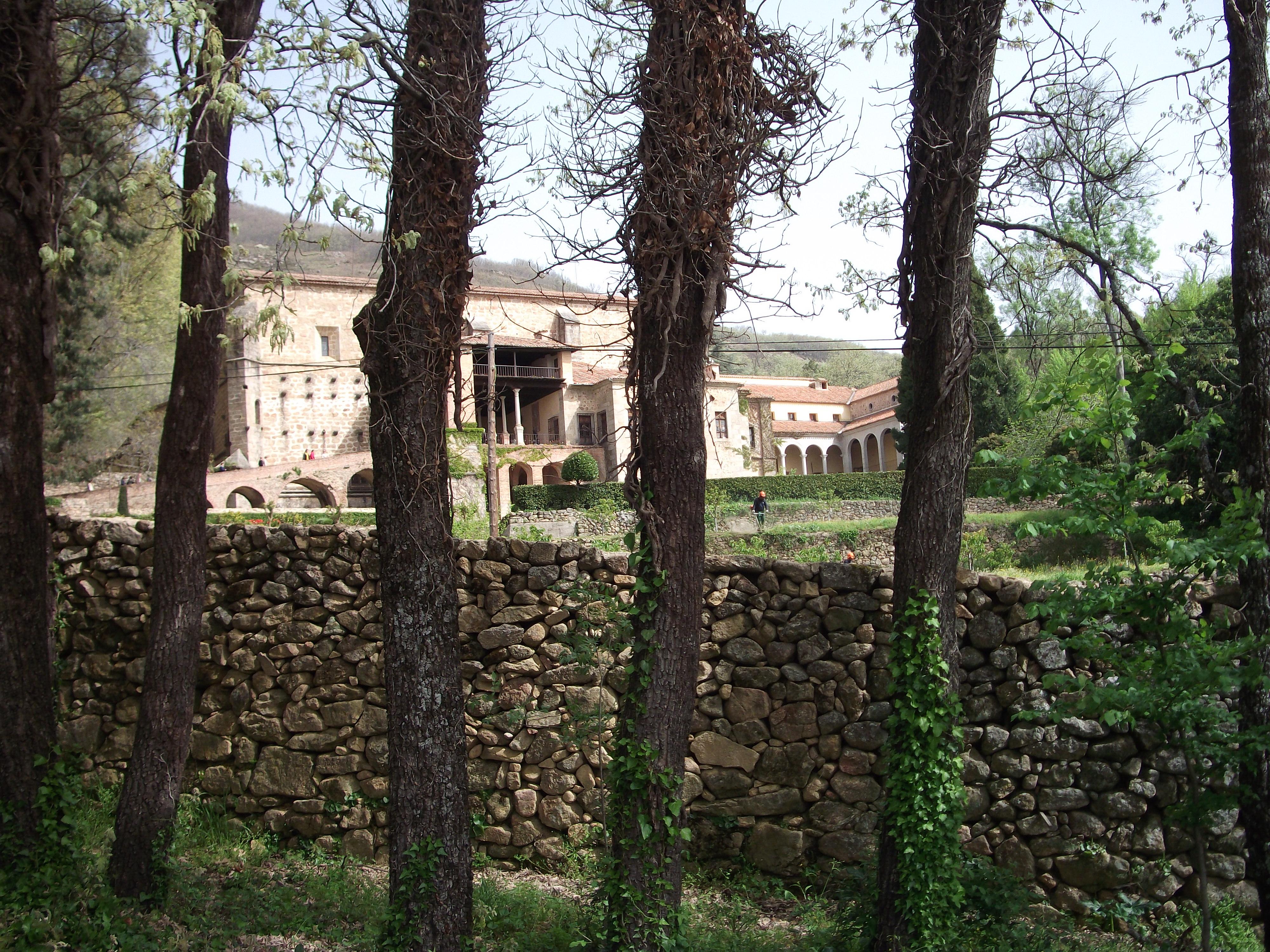 Emperor Charles V's villa at Yuste.