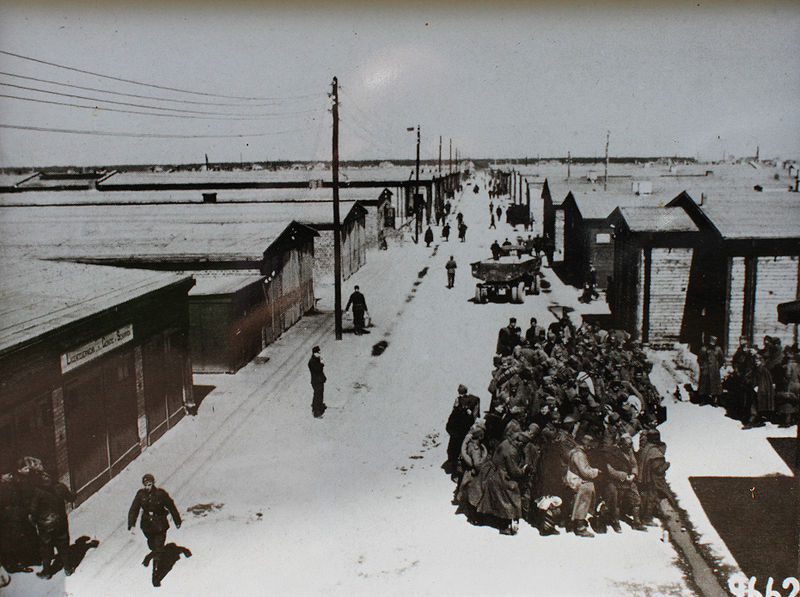 Stalag IV - B Main Street (Photo by LutzBruno)